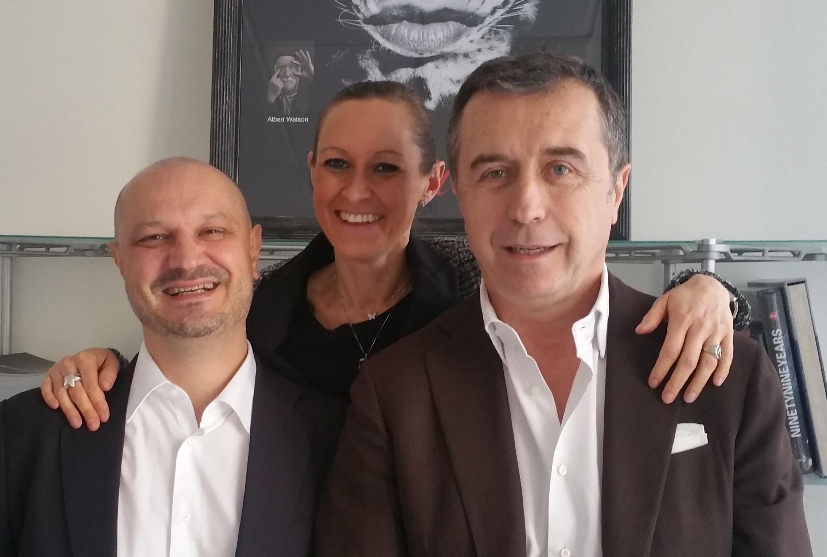 Maurizio Cavezzali, Valeria Albertin, Alessandro Santambrogio